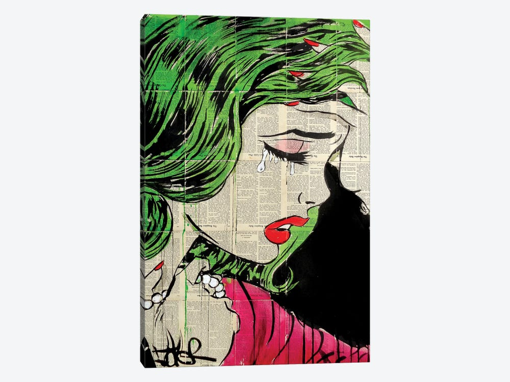 Pop Princess by Loui Jover 1-piece Canvas Artwork