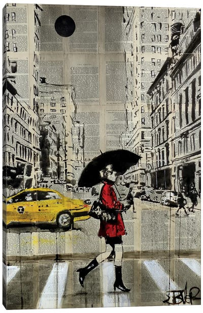 Red Coat Canvas Art Print