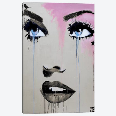 Starlette Canvas Print #LJR20} by Loui Jover Canvas Artwork