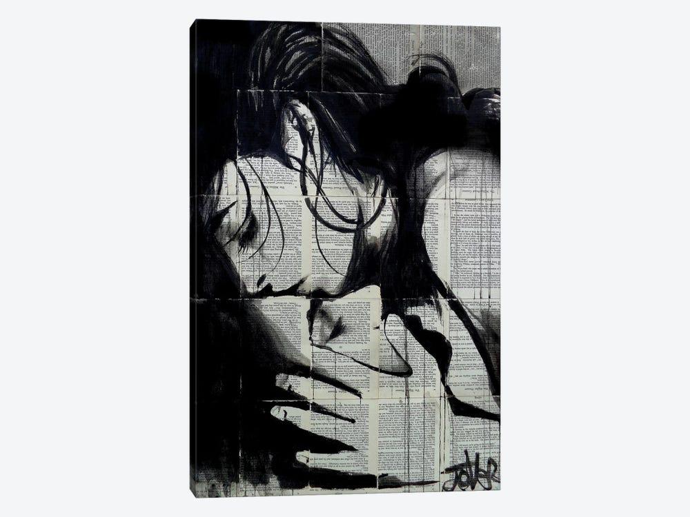 Soul Kiss by Loui Jover 1-piece Art Print