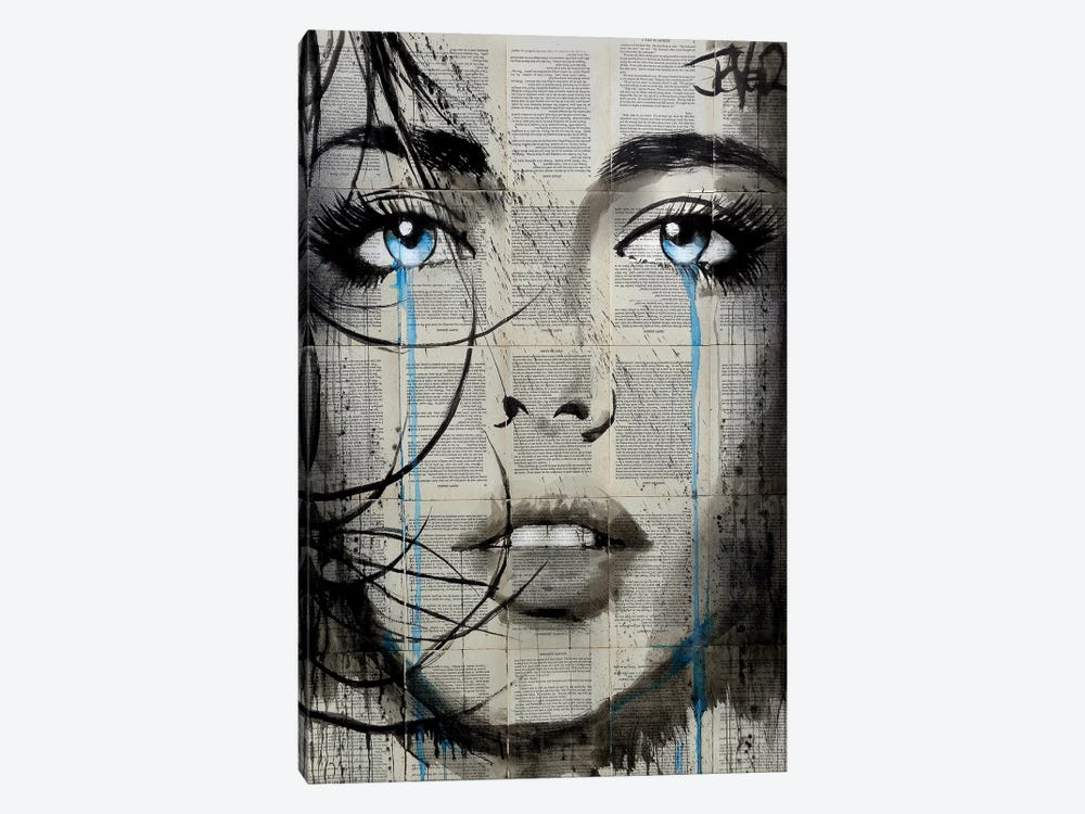 Trinity by Loui Jover 1-piece Canvas Art