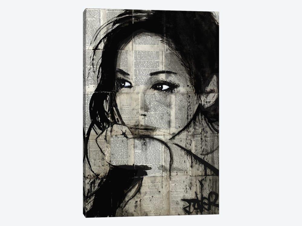 Ruth by Loui Jover 1-piece Canvas Print