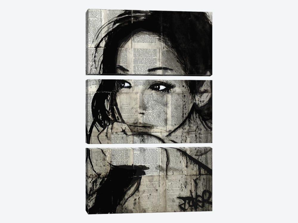 Ruth by Loui Jover 3-piece Canvas Art Print