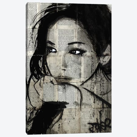 Ruth Canvas Print #LJR214} by Loui Jover Canvas Print