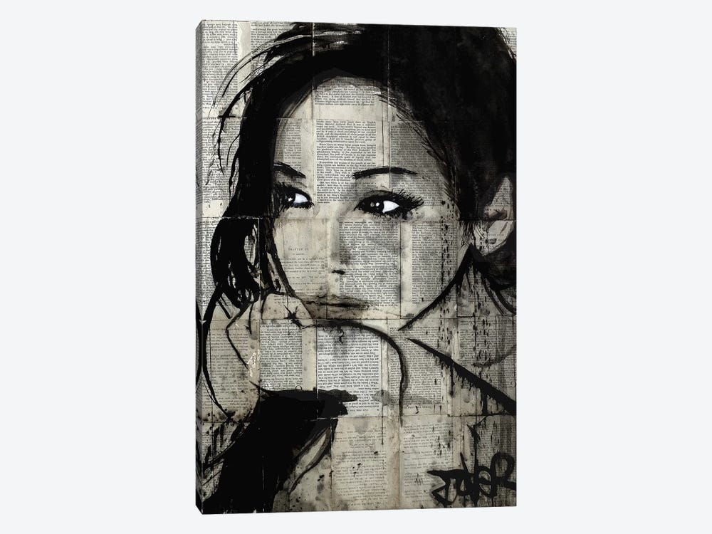 Ruth by Loui Jover 1-piece Canvas Print