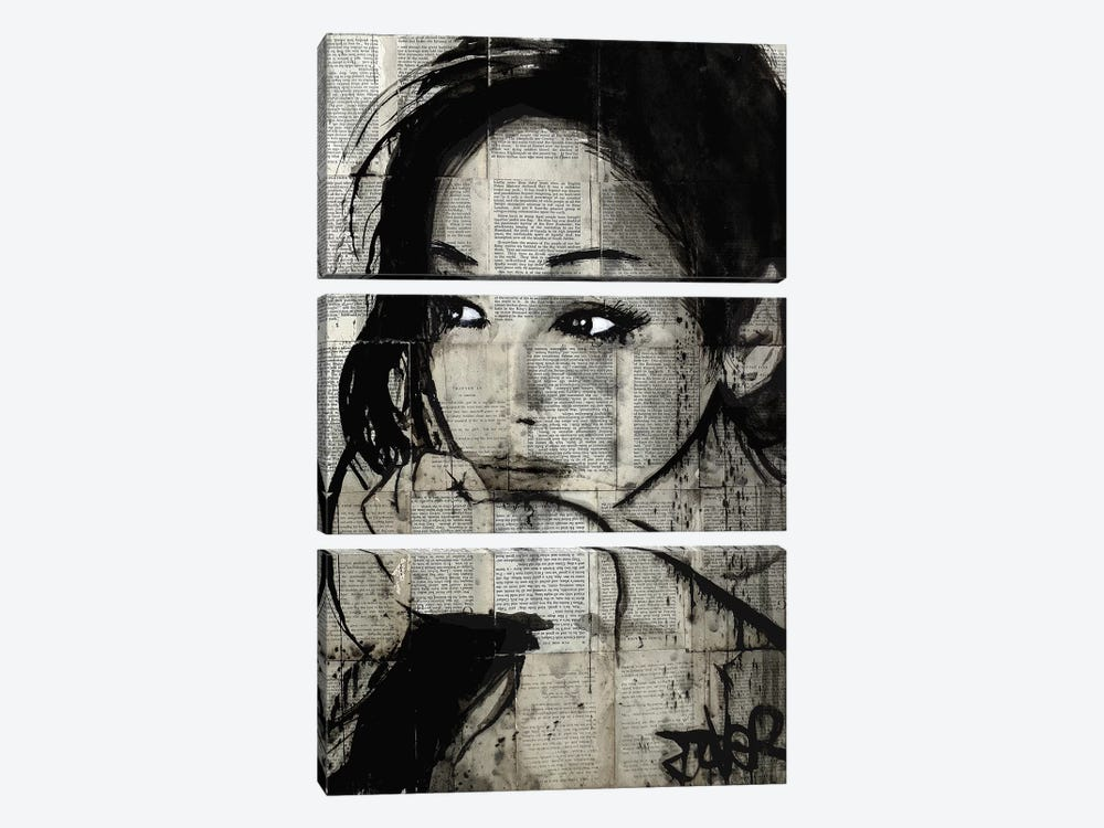 Ruth 3-piece Canvas Art Print