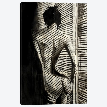 Blinds Canvas Print #LJR217} by Loui Jover Art Print
