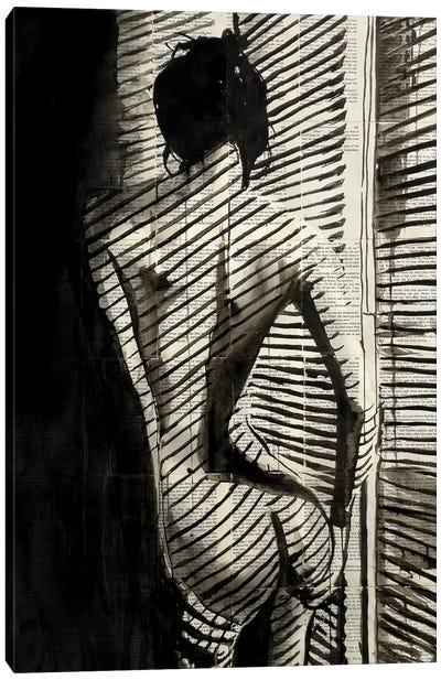 Blinds Canvas Art Print