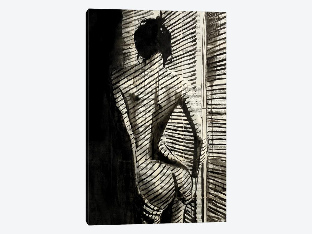 Blinds by Loui Jover 1-piece Canvas Wall Art