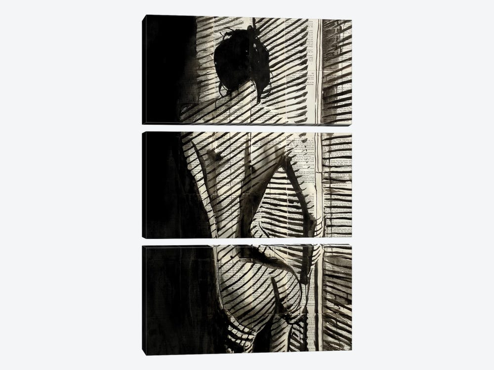 Blinds by Loui Jover 3-piece Canvas Art