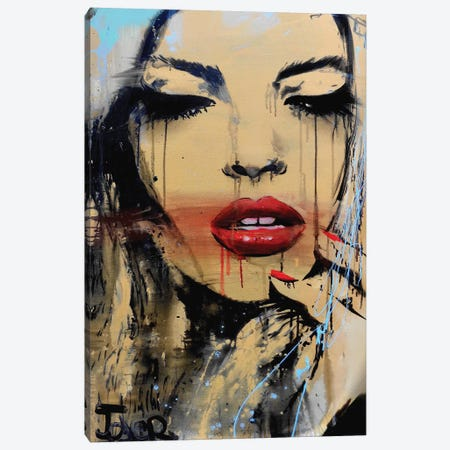 Gloss 3-Piece Canvas #LJR220} by Loui Jover Canvas Art Print