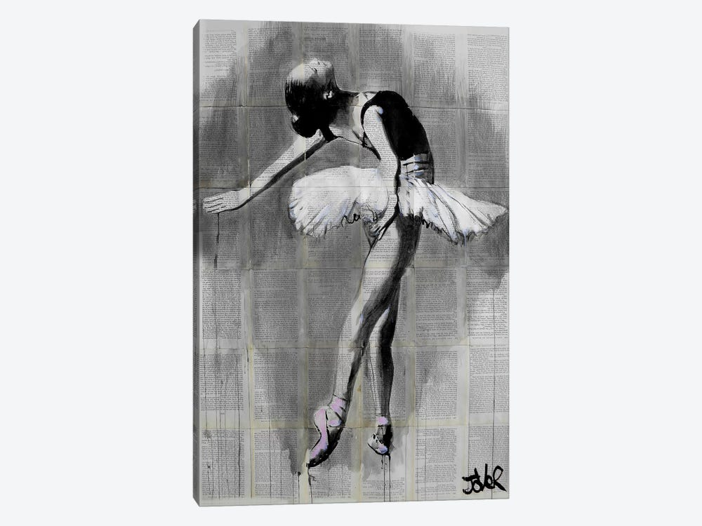 Her Finest Moment by Loui Jover 1-piece Canvas Art Print