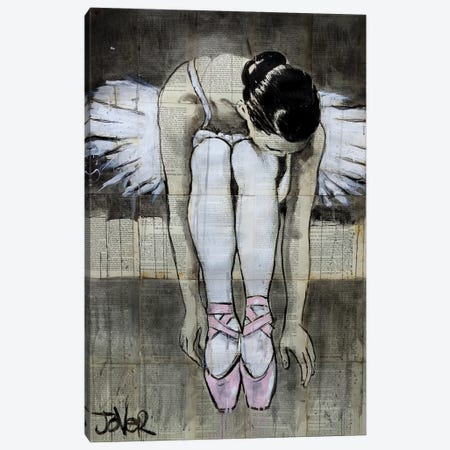 She Dances Canvas Print #LJR226} by Loui Jover Canvas Artwork