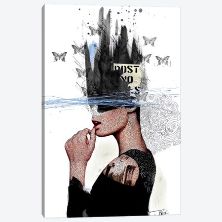 Labyrinth Canvas Print #LJR22} by Loui Jover Canvas Artwork