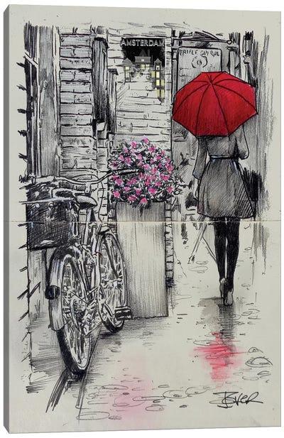 Amsterdam Walk Canvas Art Print