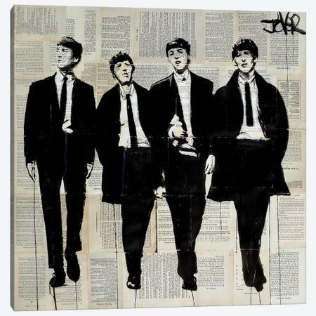 Backbeat Canvas Print #LJR235} by Loui Jover Art Print