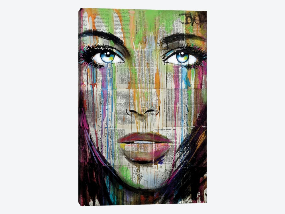 Belle by Loui Jover 1-piece Canvas Print