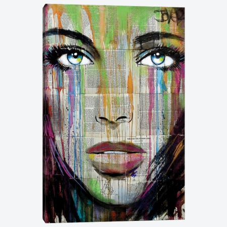 Belle 3-Piece Canvas #LJR236} by Loui Jover Canvas Art Print