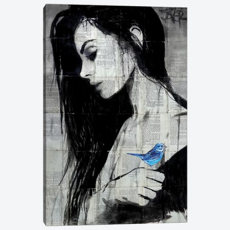 Birdlife Canvas Print #LJR238} by Loui Jover Canvas Wall Art