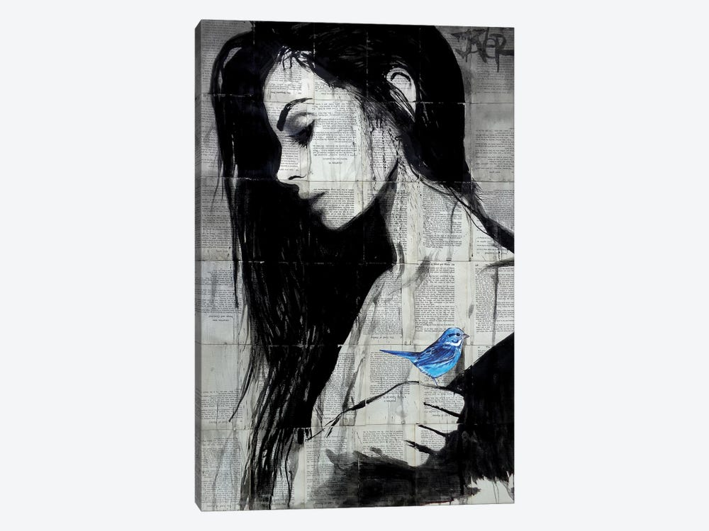 Birdlife by Loui Jover 1-piece Canvas Art Print
