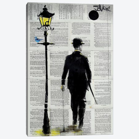 Dapper Day Canvas Print #LJR240} by Loui Jover Art Print
