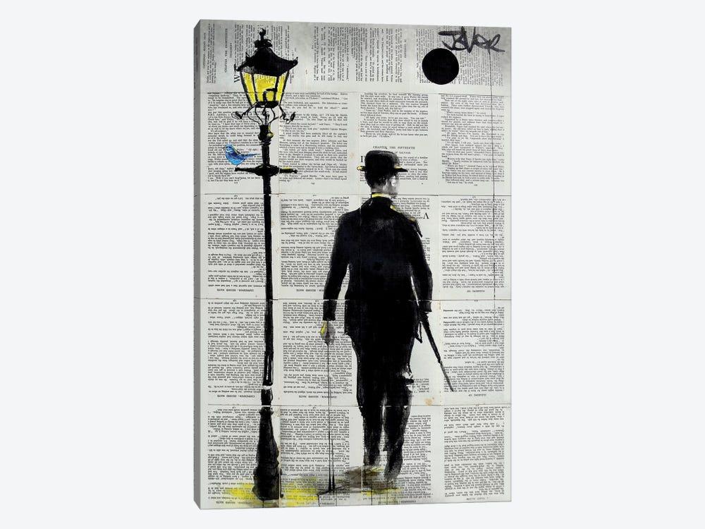 Dapper Day by Loui Jover 1-piece Canvas Wall Art