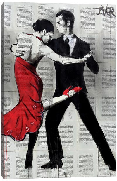Flamenco Nights Canvas Art Print