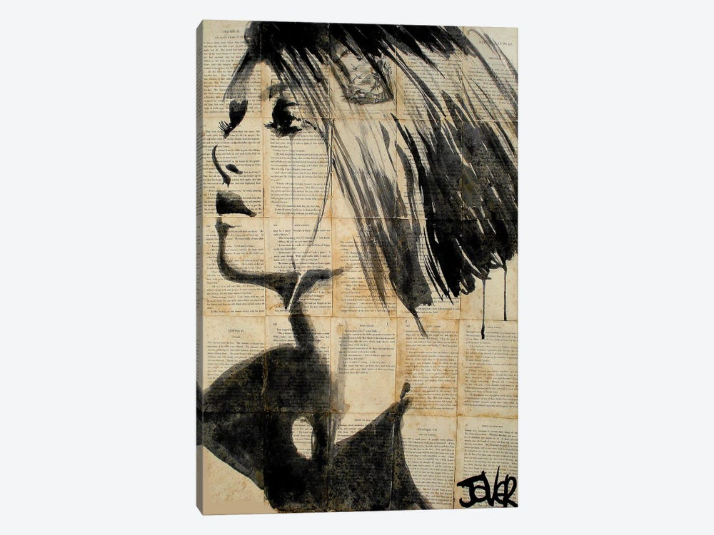 Flower by Loui Jover 1-piece Canvas Wall Art
