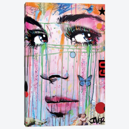 Go Canvas Print #LJR243} by Loui Jover Canvas Print