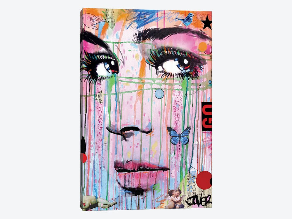 Go by Loui Jover 1-piece Art Print