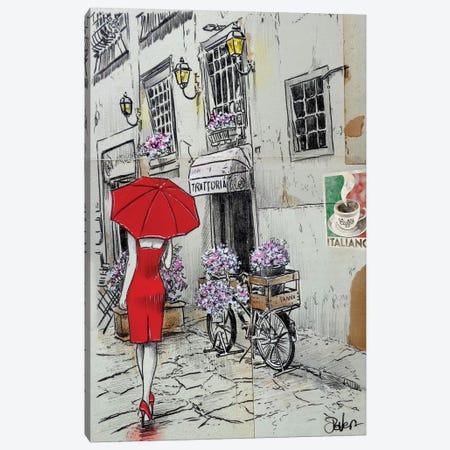 Italiano Trattoria 3-Piece Canvas #LJR245} by Loui Jover Canvas Wall Art