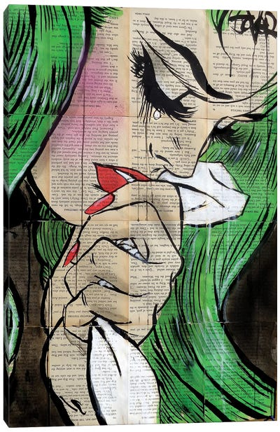 Pop Cry Canvas Art Print