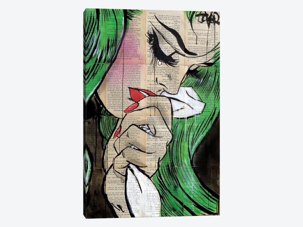 Pop Cry by Loui Jover 1-piece Canvas Art Print