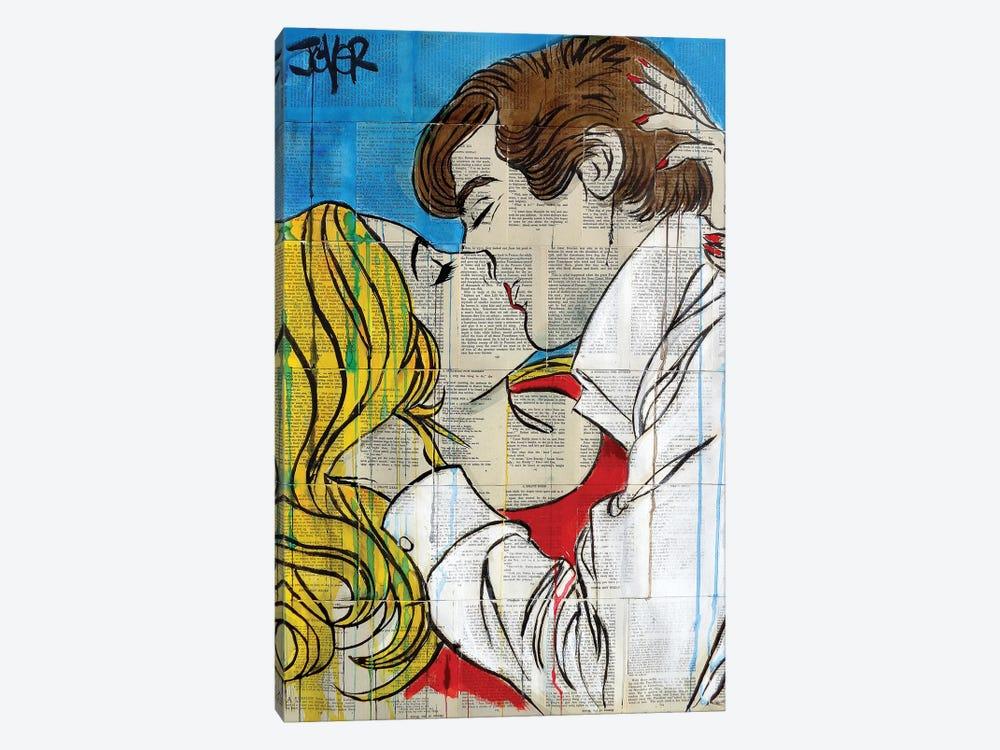 Pop Romantics by Loui Jover 1-piece Canvas Art