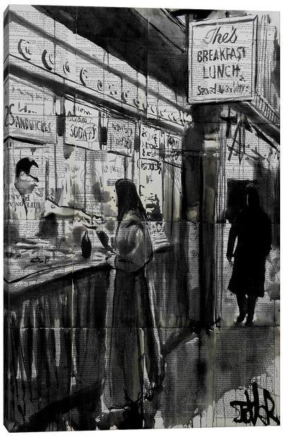 Night Café Canvas Print #LJR24