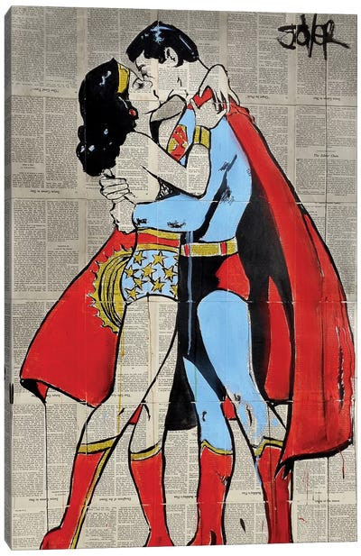 Super Love Canvas Art Print