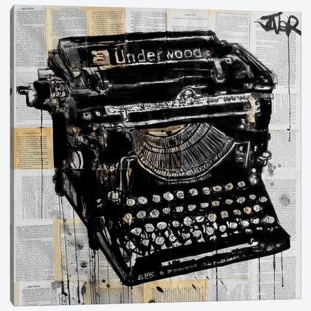 The Underwood Canvas Print #LJR254} by Loui Jover Canvas Art Print