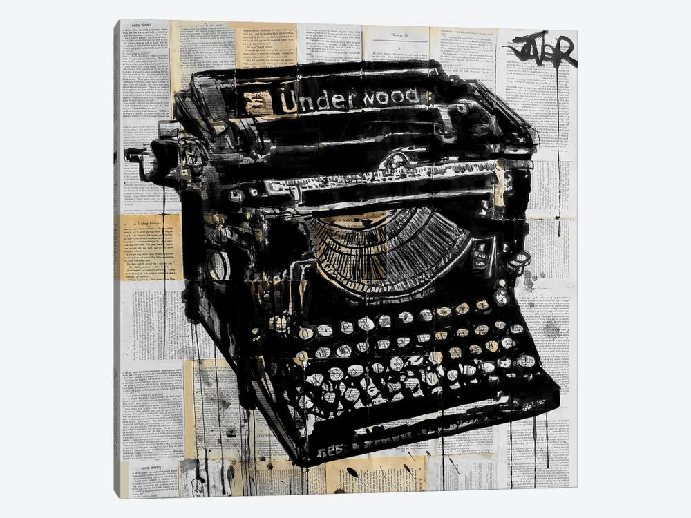 The Underwood by Loui Jover 1-piece Canvas Print