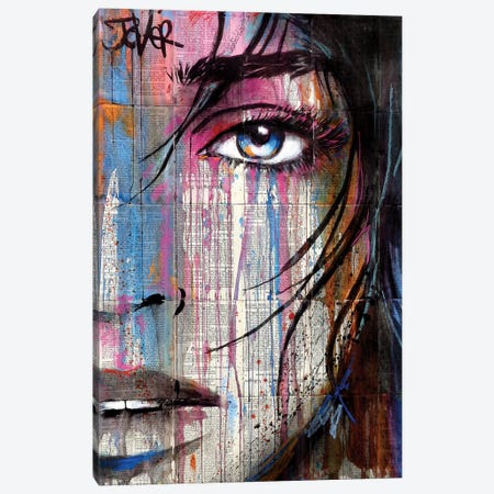 Village Canvas Print #LJR257} by Loui Jover Canvas Print