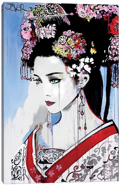 Empress Canvas Art Print