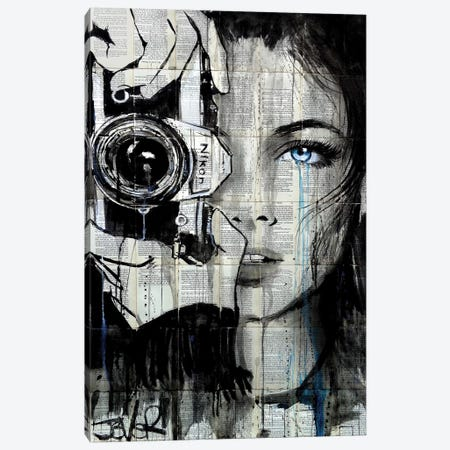 Shootin Canvas Print #LJR260} by Loui Jover Canvas Print