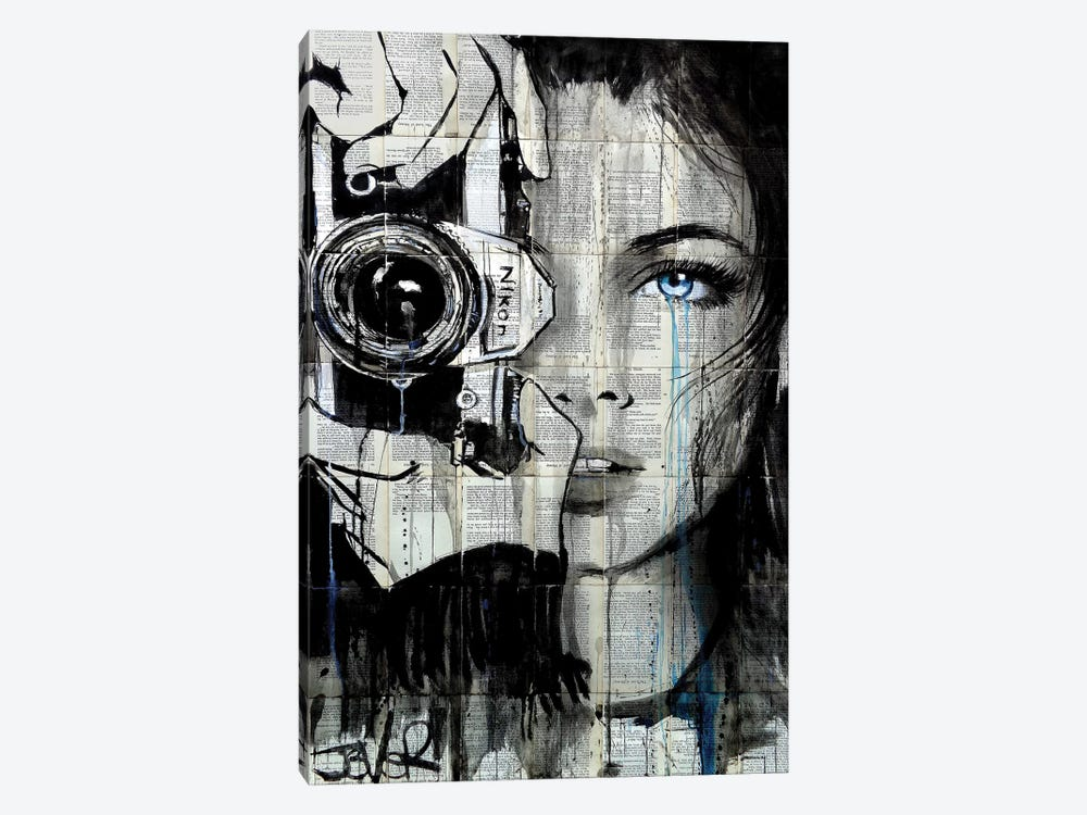 Shootin by Loui Jover 1-piece Canvas Art