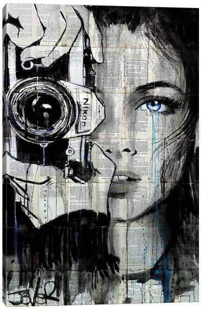 Shootin Canvas Art Print