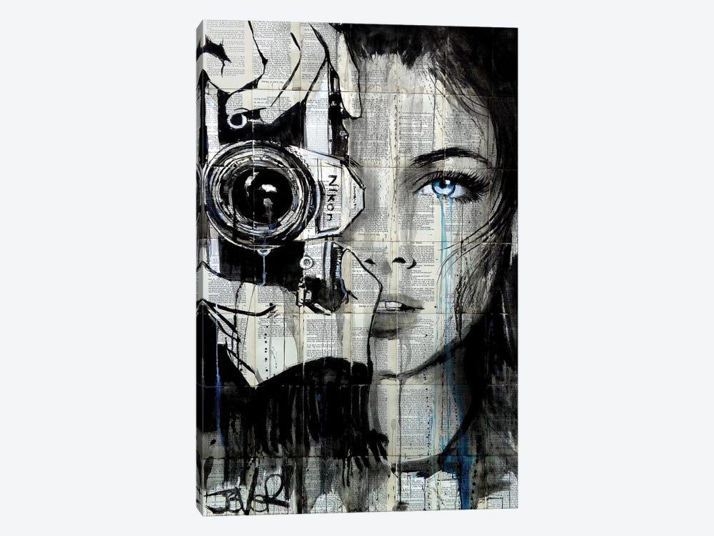 Shootin by Loui Jover 1-piece Canvas Art