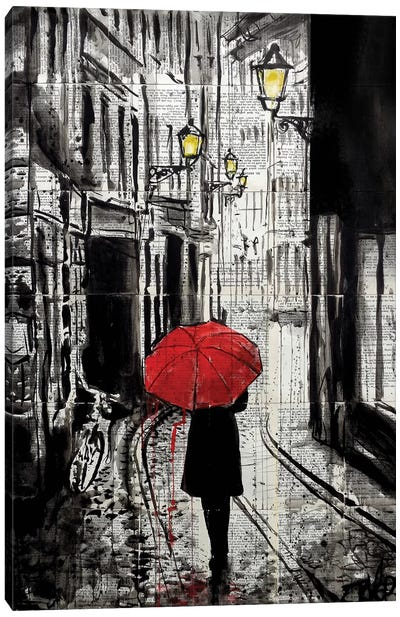 The Delightful Walk Canvas Art Print