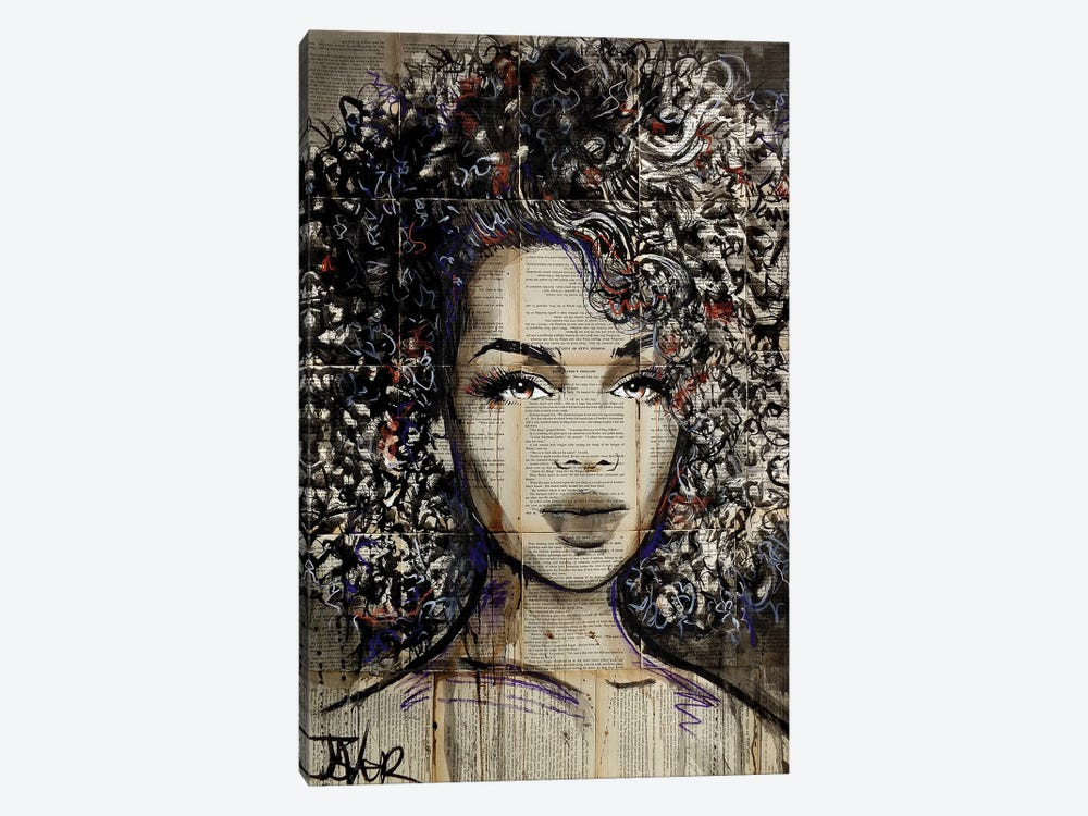 Wonder by Loui Jover 1-piece Canvas Wall Art