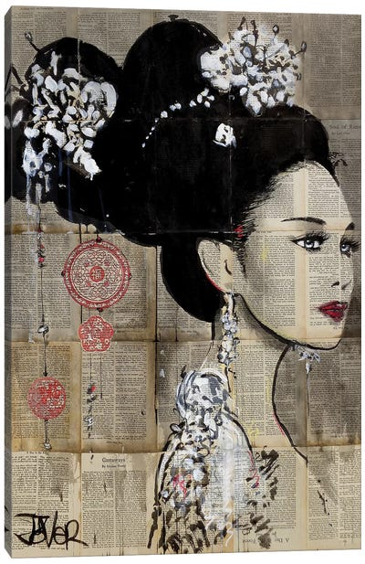 Yu Canvas Art Print