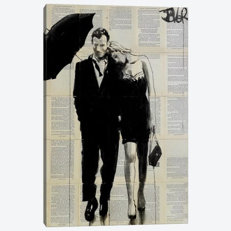 Each Other Canvas Print #LJR267} by Loui Jover Canvas Artwork