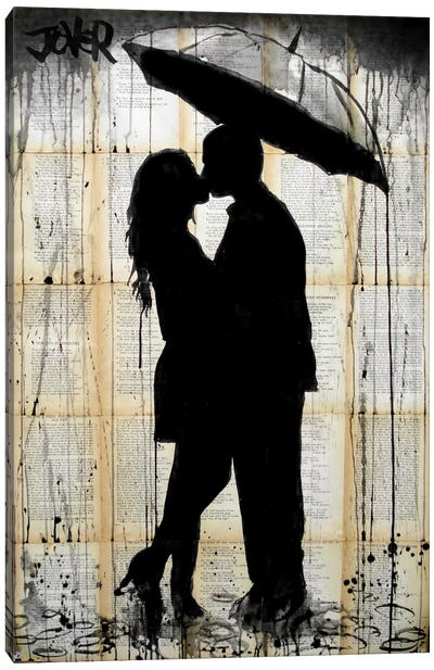 Rain Lovers Canvas Art Print