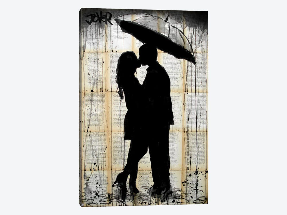 Rain Lovers by Loui Jover 1-piece Art Print